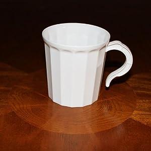 Amazon Com Box Of 96 White Plastic Coffee Mug