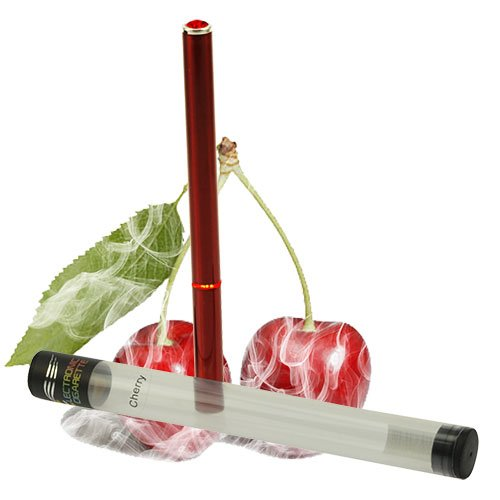 Luxus E Shisha 500 Zug Kirsche Profi Wasser Pfeife Multi LED E-Hookah to go 2 go