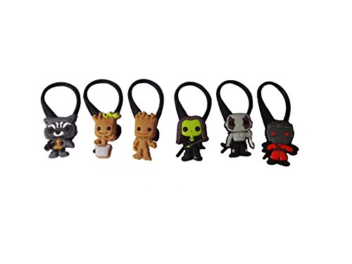 AVIRGO 6 pcs Bag Tag Identify Your Luggage Set # 114 - 11 (Marvel Universe Adam Warlock compare prices)