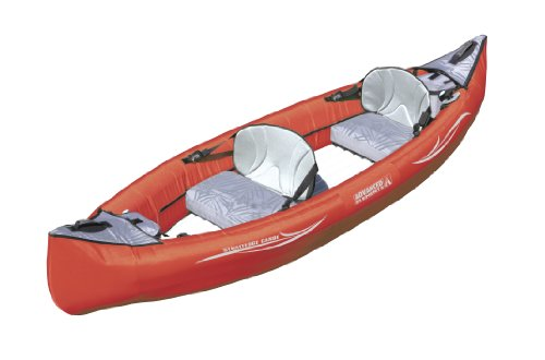 Advanced Elements Inflatable Canoe (Red, 11-Feet x 36-Inch)