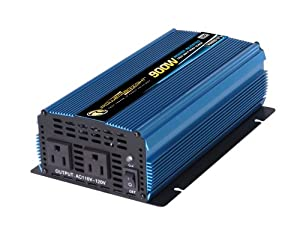 Power Bright PW900-12 Power Inverter 900 Watt 12 Volt DC To 110 Volt AC from Power Bright