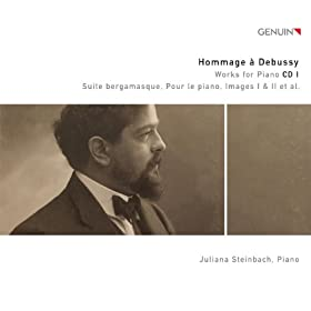 Hommage � Debussy: Works for Piano CD 1
