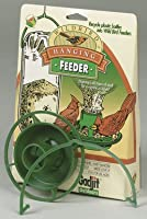 Hanging bird feeder gadget for plastic drink bottles