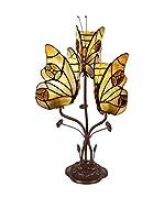 Arte dal Mondo Lámpara De Mesa Farfalle