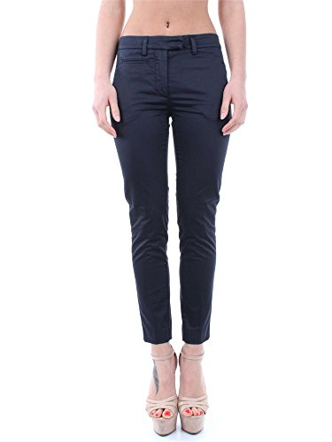 DONDUP PERFECT DP066 RS986D BLU PANTALONE Donna BLU 31