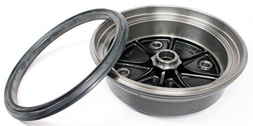 Kawasaki 07-16 Mule 3010 4010 Trans4x4 Diesel Front Brake Drum with Seal Kit