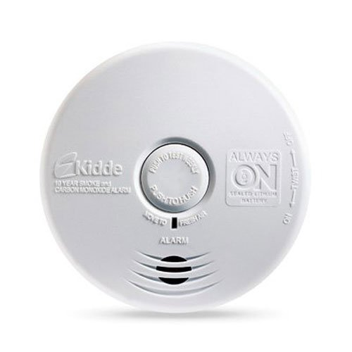 Kidde P3010K-CO Worry-Free Kitchen Photoelectric Smoke and Carbon Monoxide Alarm with 10 Year Sealed Battery (Kitchen Smoke Alarm compare prices)