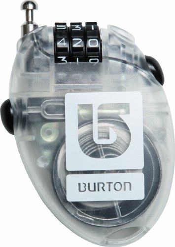 Burton Unisex Cable Lock Clear