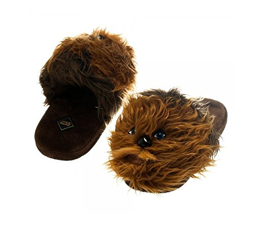 Star-Wars-Chewbaca-Plush-Slippers-M