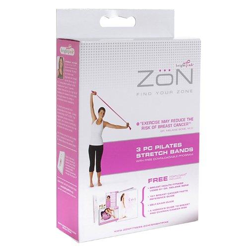 Imagen de Zon Pilates Bandas (Rosa, de 3 piezas)