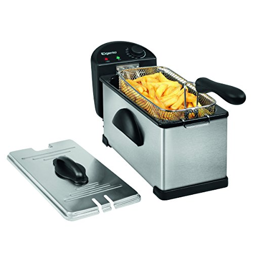 Elgento E17001 Stainless Steel Fryer, 3 Litre