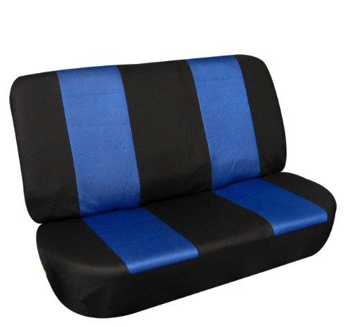 FH FB102R010 Classic Bench Car Seat Cover Blue Black 1699
