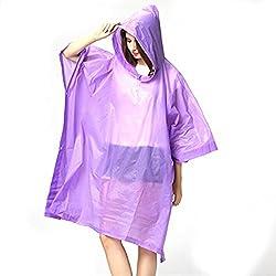 Romano PVC Waterproof Rain Ponchos Raincoat Rainwear Hooded Camping