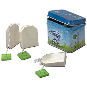 Teatime toy tea bags for children by Haba