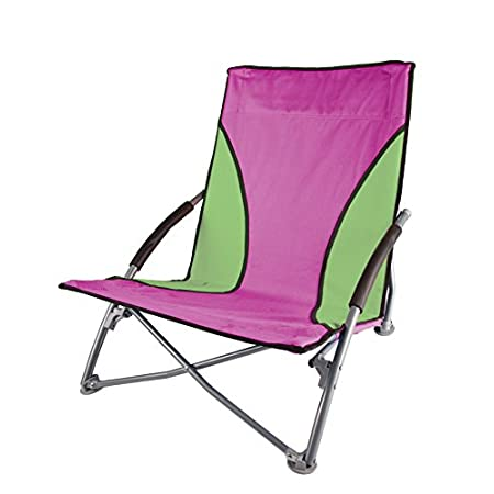 Stansport Low-Profile Fold-Up Chair features an increased seating capacity designed for stability, strength and extreme comfort. The powder coated steel frame is durable and resists corrosion. Folds compactly and stores easily in the included carry b...