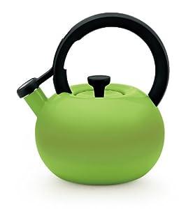 Circulon Teakettles Circles Whistling Kettle, 2-Quart, Kiwi Green by Circulon