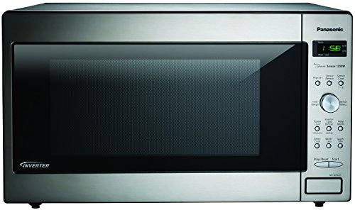Panasonic NN-SD962S Genius 2.2 cuft 1250-Watt Sensor Microwave with Inverter Technology, Stainless Steel