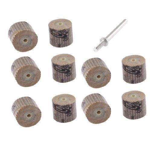 sourcingmap-lot-de-10-fils-diametre-3-mm-grain-240-roues-composees-de-volets-abrasifs-montes-disque-