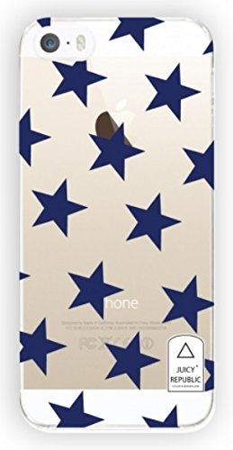 Juicy Republic - Iphone 5 / 5S Case - Star Transparent Case - Made In Korea