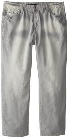Rocawear Men's Big-Tall Volume Jean, Grey Wash, 48B