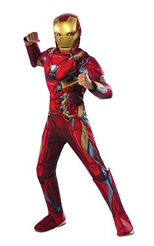 Rubie's Costume Captain America: Civil War Deluxe Iron Man Costume, Small (Iron Man Kids Costume compare prices)