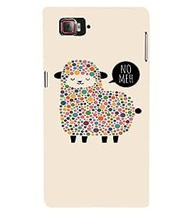 EPICCASE Dotted Sheep Mobile Back Case Cover For Lenovo Vibe Z2 Pro K920 (Designer Case)