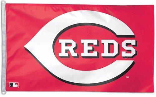 MLB Cincinnati Reds WCR25082011 Team Flag, 3' x 5'