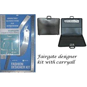 Fairgate Fashion Designer Rule Kit With Carryall On Popscreen