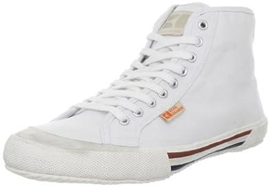 BOSS Orange by Hugo Boss Men's Santer Mid Sneaker,White,8 M US