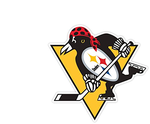 "PITTSBURGH Fan Sport Logo 6""x6"" Sticker Decal Vinyl STEELERS PENGUINS PIRATES"