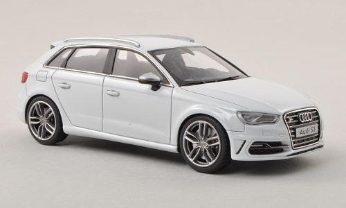 Audi S3 Sportback, hell-grau , 2013, Modellauto, Fertigmodell, Minichamps 1:43