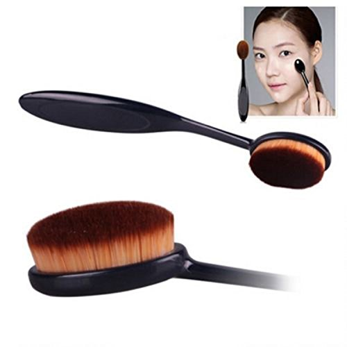 NALATI le visage Brosse à dents Curve Foundation Brush