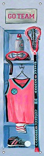 Oopsy Daisy Girl's Lacrosse Locker by Jones Segarra Growth Charts, 12 by 42-Inch