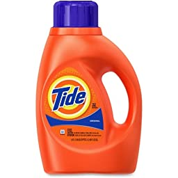 Tide Liquid Detergent - Liquid Solution - 50 fl oz (1.6 quart) - Orange