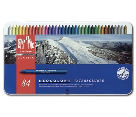 Caran d'Ache Neocolor II Water Soluable Pastels 
