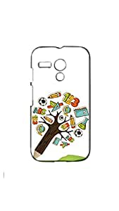 Tree Of Study Mobile Back Cover/Case For Moto G