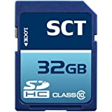 32GB SD HC Class 10 SCT Professional High Speed Memory Card SDHC 32G (32 Gigabyte) Memory Card for Canon Digital Camera EOS 1100D 1D Mark IV 600D Kiss F X3 X4 X5 X50 Rebel T3 T3i with custom formatting