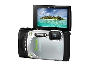 """Olympus TG-850 Appareil photo numérique compact 16 Mpix Écran 3"""" Zoom optique 5x Étanche Argent"""