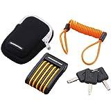 ヤマハ(YAMAHA) 盗難防止ロック インターセプターPOCKET2 KA0207 キータイプ オレンジ/ブラック 90793-67288