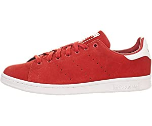 Adidas Originals Men's Stan Smith Tennis Shoes Red Size 9