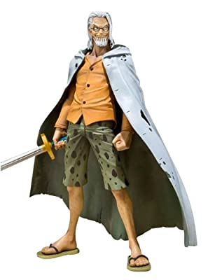 One Piece Bandai Figuarts ZERO 6 Inch Action Figure Silvers Rayleigh