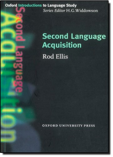 Second Language Acquisition (Oxford Introductions to...