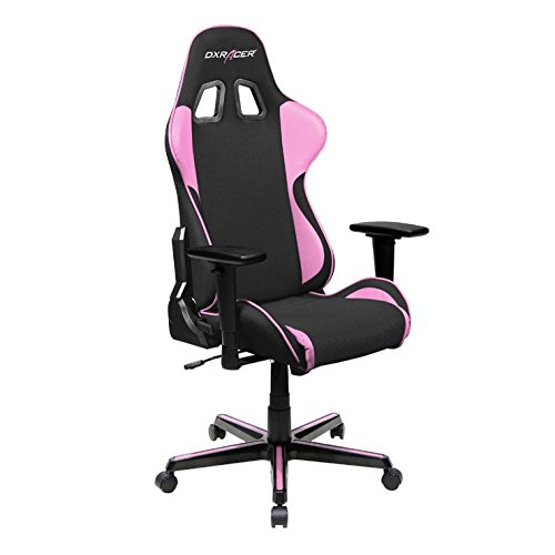 DXRacer-OHFH11NP-Ergonomic-High-Quality-Computer-Chair-for-Gaming-Executive-or-Home-Office-Formula-Series-Pink-Black
