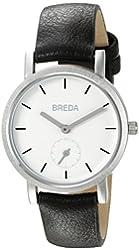 Breda Women's 2456B Analog Display Japanese Quartz Black Watch