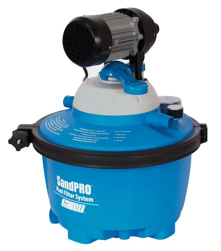Game 4515 sandpro es above ground pool sand filter for Above ground pool manufacturers