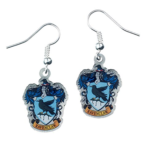 Official Harry Potter Jewellery Ravenclaw Crest Earrings (Harry Potter Shop)