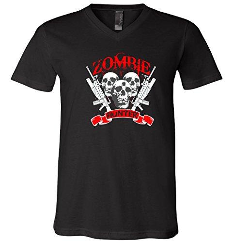 Zombie Hunter V-Neck T-Shirt