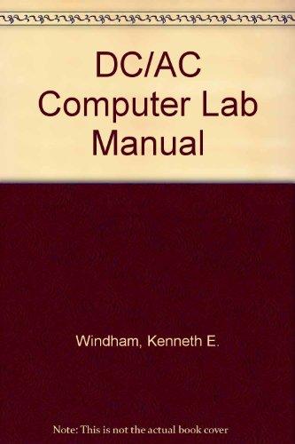DC/AC Computer Lab Manual PDF