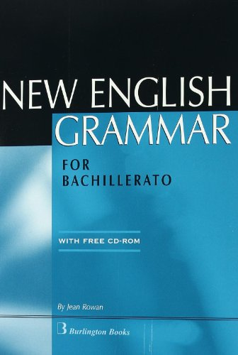 NEW ENGLISH GRAMMAR FOR BACHILLERATO