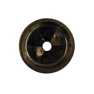 LASCO 02-4011 Black Rubber Garbage Disposal Splash Guard Fits Most